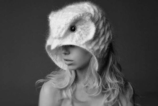Crochet-owl-hat
